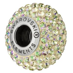 SWAROVSKI® BeCharmed PAVÉ Luminous Green