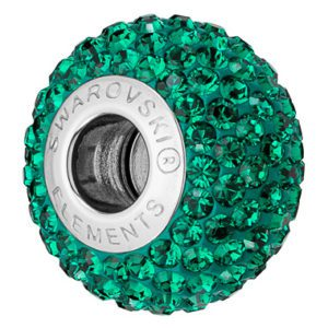 SWAROVSKI® BeCharmed PAVÉ Emerald