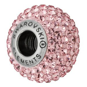 SWAROVSKI® BeCharmed PAVÉ Light Rose
