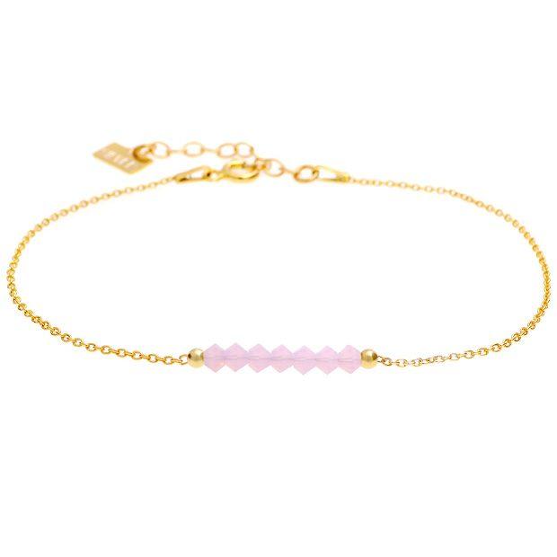 Bransoletka 'GLAM' Rose Water Opal