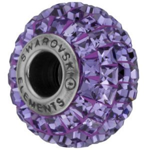 SWAROVSKI® BeCharmed Square Tanzanite