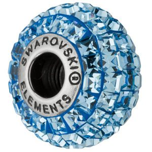 SWAROVSKI® BeCharmed Square Aquamarine