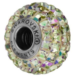 SWAROVSKI® BeCharmed Square Crystal Luminous Green